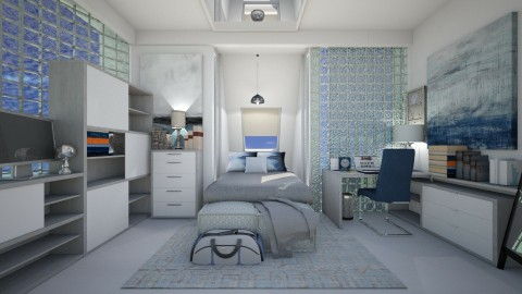 Boy room - Modern - Kids room  - by NikolinaB26
