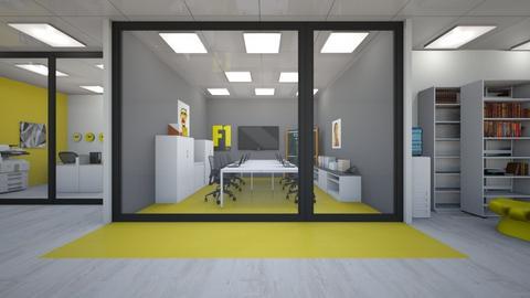 yellow - Office  - by Mounir HSSIN