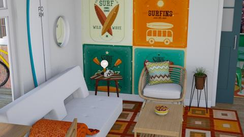 Retro surfer  - Retro - Living room  - by augustmoon