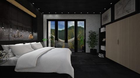 Avila - Masculine - Bedroom  - by LuzMa HL