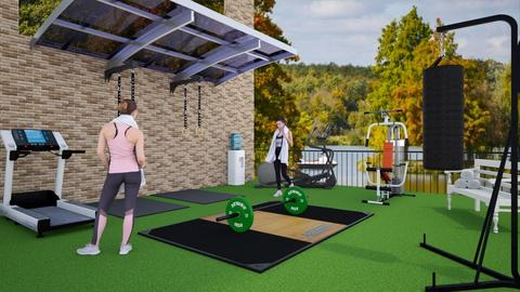 outdoor fitness design - by ilcsi1860