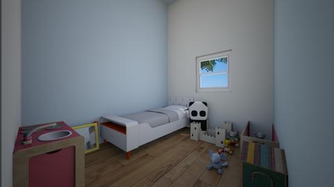 Toby room - Modern - Kids room  - by ChZu