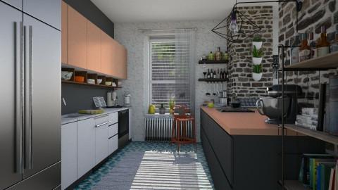 Rain - Modern - Kitchen  - by katarina_petakovi