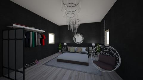 modern bedroom - Modern - Bedroom  - by chezar