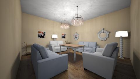 box shape  - Living room - by gabagail45