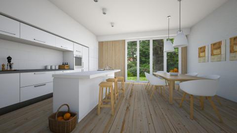 Naturally - Modern - Kitchen  - by Thrud45