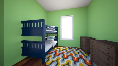 Boys Room - Kids room - by mirandab513