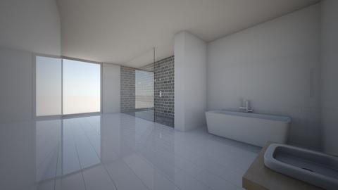 Natural Minimalist Bath - Minimal - Bathroom  - by Callmekai22