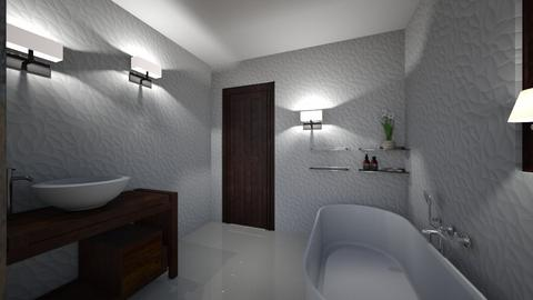 CLAU baie - Bathroom  - by Claudia Ilisan