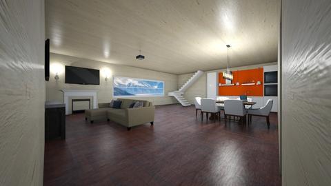 Jordi Muy guay - Living room  - by Nuto Serrido