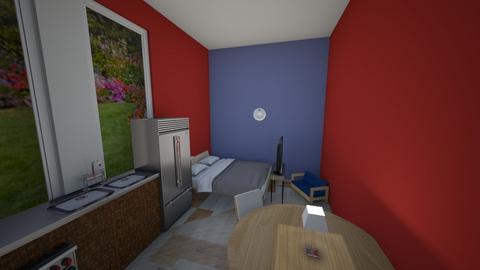 Basic Japandi Room - Bedroom  - by xavierwold