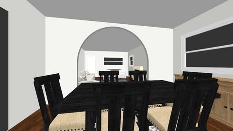 spanish living room - Living room - by ChristaChiriaco