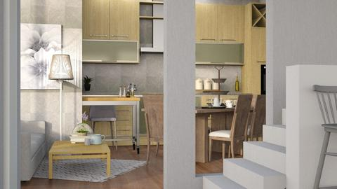 Apartment  - Modern - Kitchen  - by Gurns