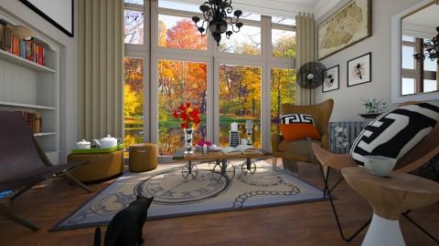 room - Modern - Living room  - by Evangeline_The_Unicorn