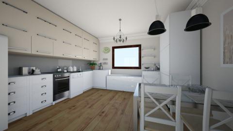 kitchen10 - Glamour - Kitchen  - by Alicja Habram
