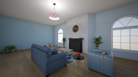 Symmetrical balance - Living room  - by angeln1