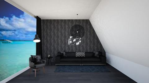 simple series black - Modern - Living room  - by martinini