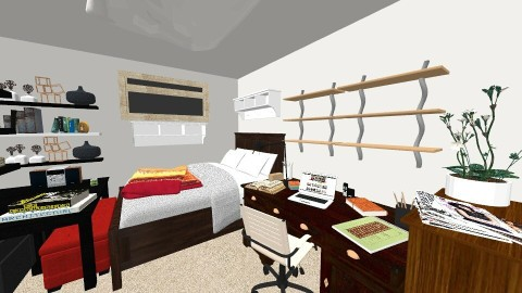 GHJ room - Bedroom - by Aifei