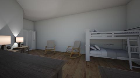15 year old twin bedroom - Bedroom  - by karl1