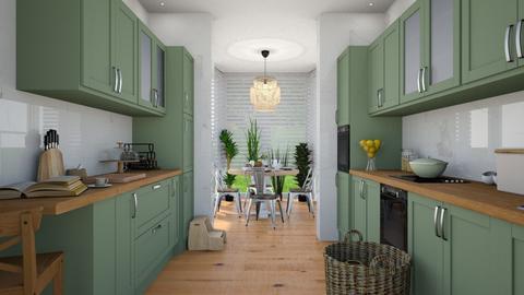 Conservatory kitchenette - Kitchen  - by martinabb