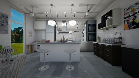 Scarlette - Kitchen - by HazelEvangelista
