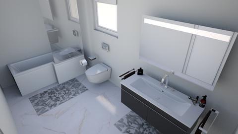 bathroom - Modern - Bathroom - by ekambrach_designs