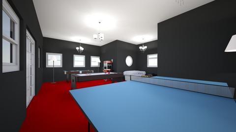 Entertainment Room - Modern - by Connor14