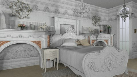 elegante - Glamour - Bedroom - by Siska Natalya