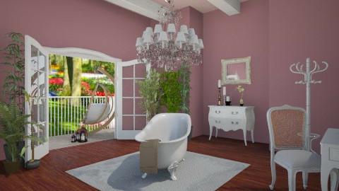 Purple - Glamour - Bathroom  - by Sali15