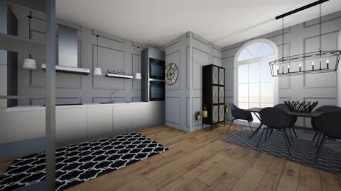 MODERN ROOM - Modern - Kitchen  - by ilayda3475