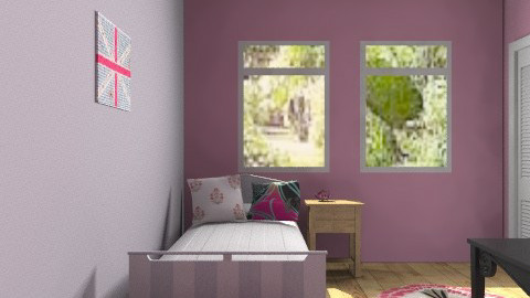 Teens room - Feminine - Bedroom - by FN27622
