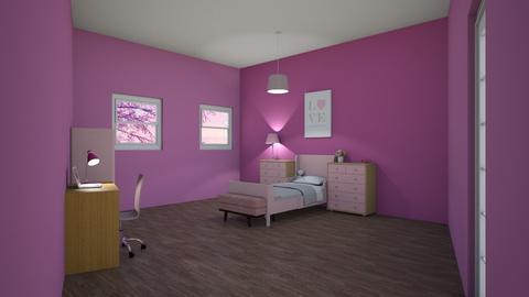 Girls Bedroom  - Bedroom  - by miriam231