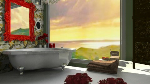 Pin Up Style - Vintage - Bathroom  - by FranChi
