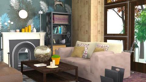 LV Modern - Glamour - Living room  - by AlexKarm