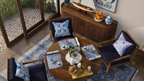 Portuguese Style - Classic - Dining room  - by Claudia Correia