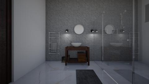 dfghj - Bathroom - by _Kikus