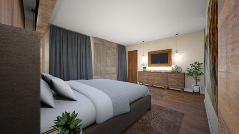 dormitor modern rustic - Modern - Bedroom - by Bianca Interior Design
