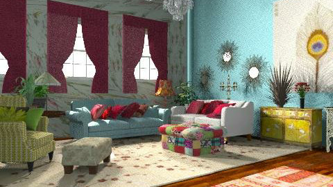 victoriana - Vintage - Living room - by xpigeonx