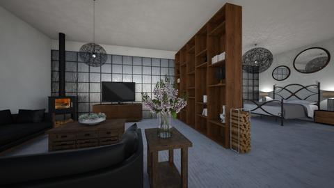 dorm - Living room  - by sophiell