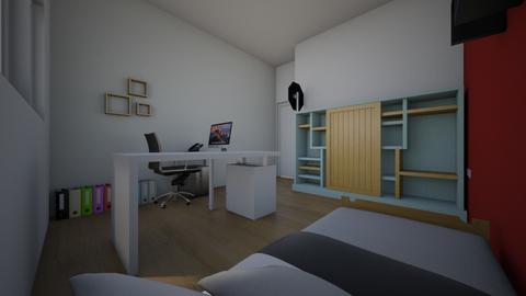 nieuwe kamer - Bedroom  - by nicolas de langhe