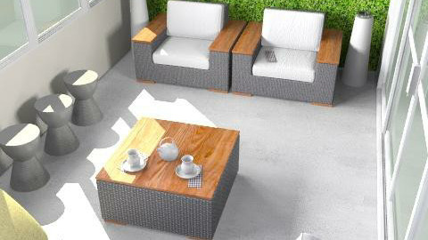 Libby Terrace Play Ollie Lounge Armchairs - Modern - Garden  - by Barry Snowbarger