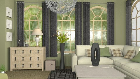check this out - Country - Living room  - by trees designs