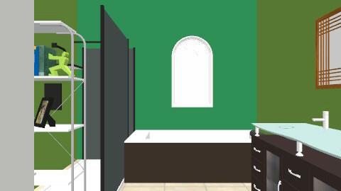 geffer main alt#2 - Minimal - Bathroom  - by knfriedman