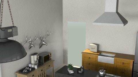 bugtong5 - Rustic - Kitchen  - by summerdaystudio