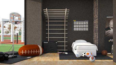Sport TYpe - Bedroom  - by FURFUR