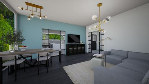 House_living room - Living room  - by Noa Jones