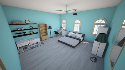 Little Boys Room_1 - Kids room - by jordyn_513
