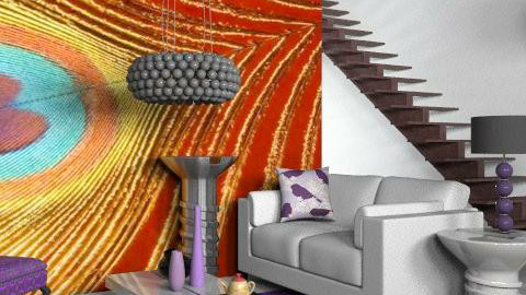 feather bright - Eclectic - Living room  - by hunny