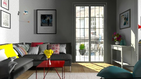 Colors - Modern - Living room  - by Thrud45