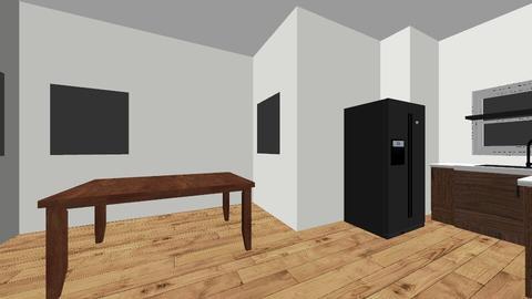 KItchen an living  - Kitchen - by teamflash24